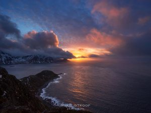 Flaget bay, Lofoten